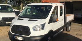 Ford Transit Crew-Cab Tipper