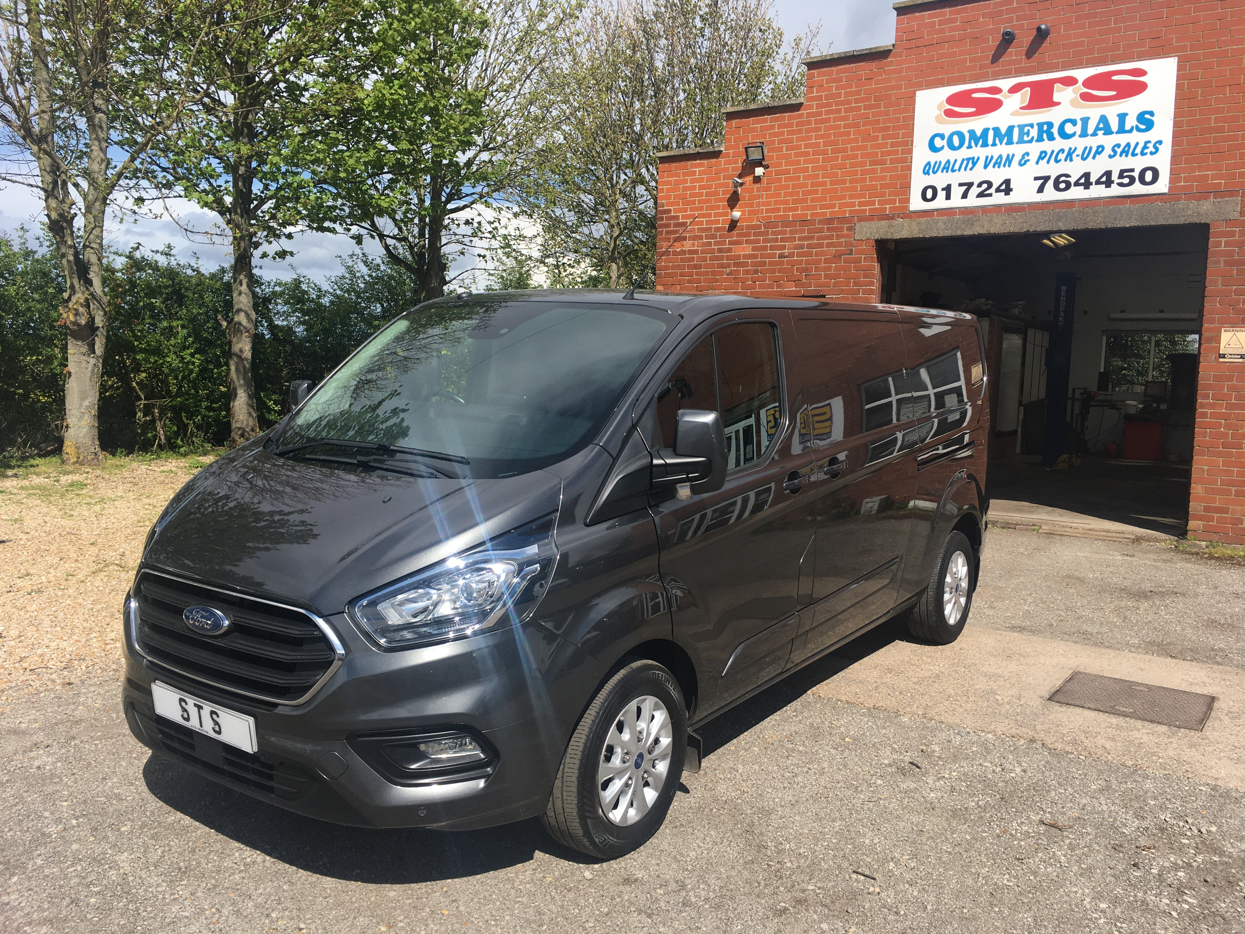 '18' Ford Transit Custom 300 L2 H1Limited