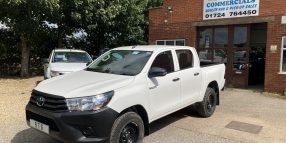 '18' Toyota Hilux HL2 Active 4×4 Double Cab